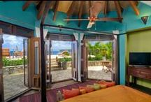 Mandarin / Images inspired by the colours of the Mandarin Suite at Baraka Point Villa, Virgin Gorda.  Teal & Orange.