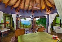 Indochine / Images inspired by the colours of Indochine Master Suite at Baraka Point Villa, Virgin Gorda.  Deep Purple.