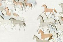 Print / Pattern : People, Animals, conversational