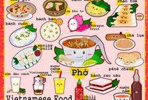 Love for food. / Aasian keittiöstä jopa Euroopan keittiöihin. Lemppari ruokiani sekä ruokia, joita en ole vielä maistellut, mutta väliäkö tuolla. ;)