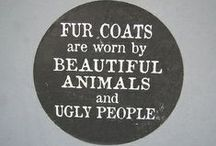Vegan leather/suede and faux fur fashion