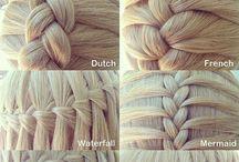 Peinados / Necesito tiempo u paciencia para practicar estos peinados con la princesa de la casa