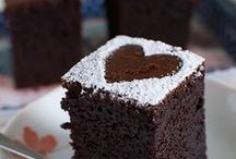 Sweet Treats / Chocolate! Beautiful cakes, cupcakes, muffins.. all things sweet ;)