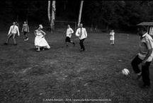 Casamento / wedding / Casamento ao ar livre, com direito a futebol casados versus solteiros.