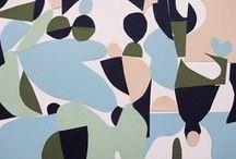 Print / Pattern : abstract, collages, papiers découpés