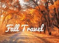 Fall Travel / Go pick out your perfect pumpkin and do some leaf peepin'!  The weather's cooler and it's the perfect time to explore the U.S. with our fall travel ideas.