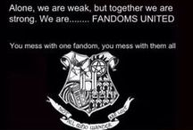 ALL the Fandoms!!! / All of our fandoms combined!! We are a fandom community!!! If you want to be added, all you have to do is follow, and I'll send an invite!! / by Pandora Lynn