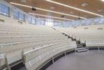 L213 - Università Cattolica del Sacro Cuore Milano / Lamm consolidates its position in the #education sector with the new installation at Università Cattolica del Sacro Cuore in #milan -- #university #unicatt #interiordesign #design #furniture #architecture #seating