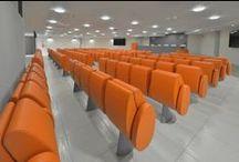 TULIP - ULS di Perugia / New realization with #tulip #conference #seating at ULS in #perugia #design #furniture #interiordesign #architecture