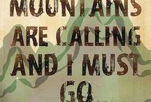 Góry=mountain / Góry skałki pasma  przełęcze sprzęt i oczywiście ludzie gór