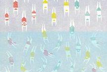 Illustration/ Crayon-Pinceau-Feutre