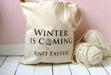 Knitting= robótki na drutach / Na drutach - pomysły i wykonanie