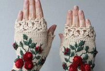 Knitting Mittens & Cuffs