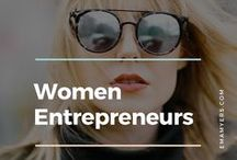 Women Entrepreneurs / Here I celebrate women in business as a whole, along with best advice from successful women entrepreneurs.