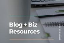 Blog + Biz Resources
