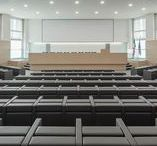 Mura by LAMM at Politecnico di Milano – Great Hall – Milan, Italy / LAMM strengthens its vocation for conference hall and university campus design, standing out for its style and elegance as proved by Polo Lambruschini – La Masa Great Hall of Polytechnic of Milan University.