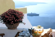 To the island of Santorini, Greece
