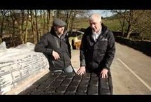 'How to' / Our 'How to' videos and pictures will help you with issues you may face whilst doing hard landscaping