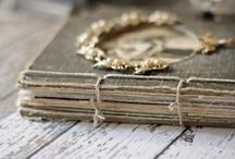 Paper ephemera, books + journals