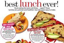 Food: Lunch / Healthy lunch ideas