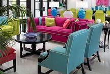 Decor: Bold Colours