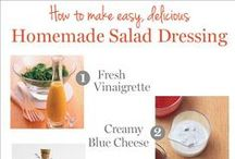 Food: DIY mixes, dressings, etc.