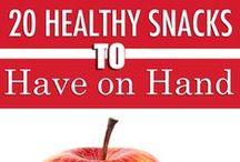 Food: Snacks / Healthy snacks or treats