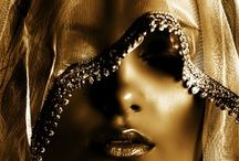 The Gilded Girl / Gold Inspirations from Fashion to Feeling