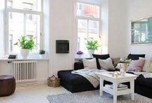 Small apartments idee / Small rooms or dwellings discipline the mind, large ones weaken it. - Leonardo Da Vinci
