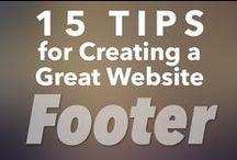 Blogging: Footer