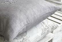 Lavish Linen / Tell your story in linen!  www.lotsofliving.co.uk