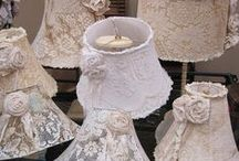 LAMP AND LACE / DRESS THE HOME