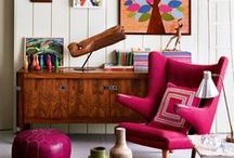 Living Room Decor FurnishMyWay / Looking for an innovative living room design? Check out these creative uses of diverse textiles, colors, styles, & decor.