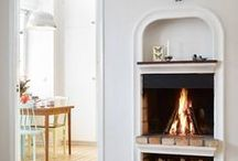 Fireplace Ideas FurnishMyWay / Tucked inside this board is everything you need to create the perfect fireplace for your home. Various designs, decor, details, and materials are here to spark your imagination!