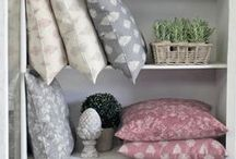 Majestic Cushions / Formal or fanciful, our sumptuously feather-filled cushions in this seasons most sublime colours are perfect additions to neutral upholsteries. Add a splash of imperial blue, grey, muted red or duck egg to grandiose large or small spaces. www.lotsofliving.co.uk