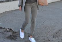 JEANS - GREY