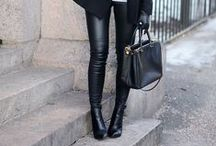 LEATHER - PANTS