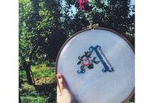 Crossstitch-Crochet-Knitting