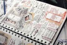 Drawing club / Inspiratie voor opdrachten, voorstelopdrachten van de leden.