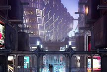 AES : Cyberpunk / Because I also have a thing for cyberpunk.