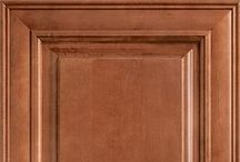 Door Styles / Browse our gallery of door styles, available in a variety of species and colors / by American Woodmark Cabinetry