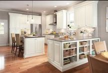 Design Ideas: Tips for your new space / That perfect pantry, mud rooms to envy, and more / by American Woodmark Cabinetry