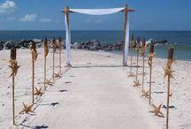 Agionissi Resort Beach Wedding Reception / Ideas for the beach decoration