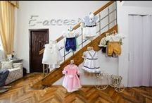 Showroom / This is the Petite Coco's showroom, a place where you can see and try on our exquisite baby outfits.