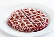 Red Velvet Waffles / Because who doesn't love dessert for breakfast?