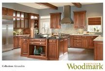 Love the Look? Alexandria Pages 22-24 / See how we created these rooms / by American Woodmark Cabinetry