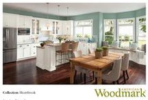 Love the Look? Shorebrook Pages 44-47 / Need something to Shaker up. How about some Cottage appeal? Here's how. / by American Woodmark Cabinetry