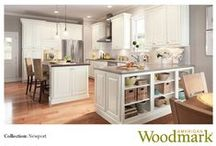 Love the Look? Newport Pages 54-57 / What's not to love? Traditional looks.  See how we create these.  / by American Woodmark Cabinetry