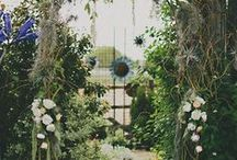Bohemian woodland fairytale wedding
