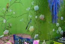 Walls / Wow factor wallpaper and pretty paint